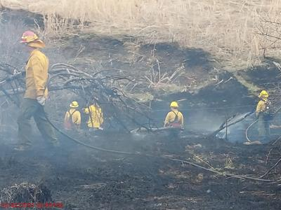 Firefighters Respond to 5th Controlled Burn Wildfire in 6 Days