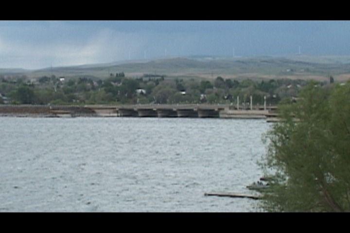 American Falls Reservoir at 75% capacity
