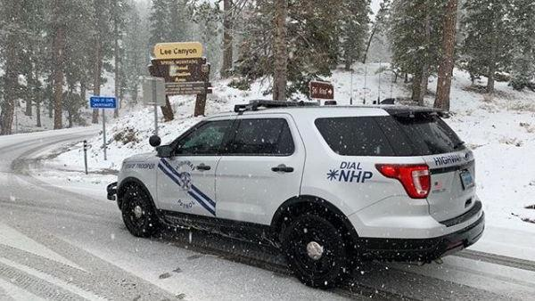 Nevada Highway Patrol - Mount Charleston, NV