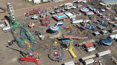 Flying Over the Fair