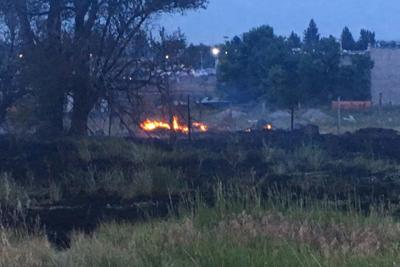 IFFD: Field fire in Idaho Falls caused by fireworks   Local
