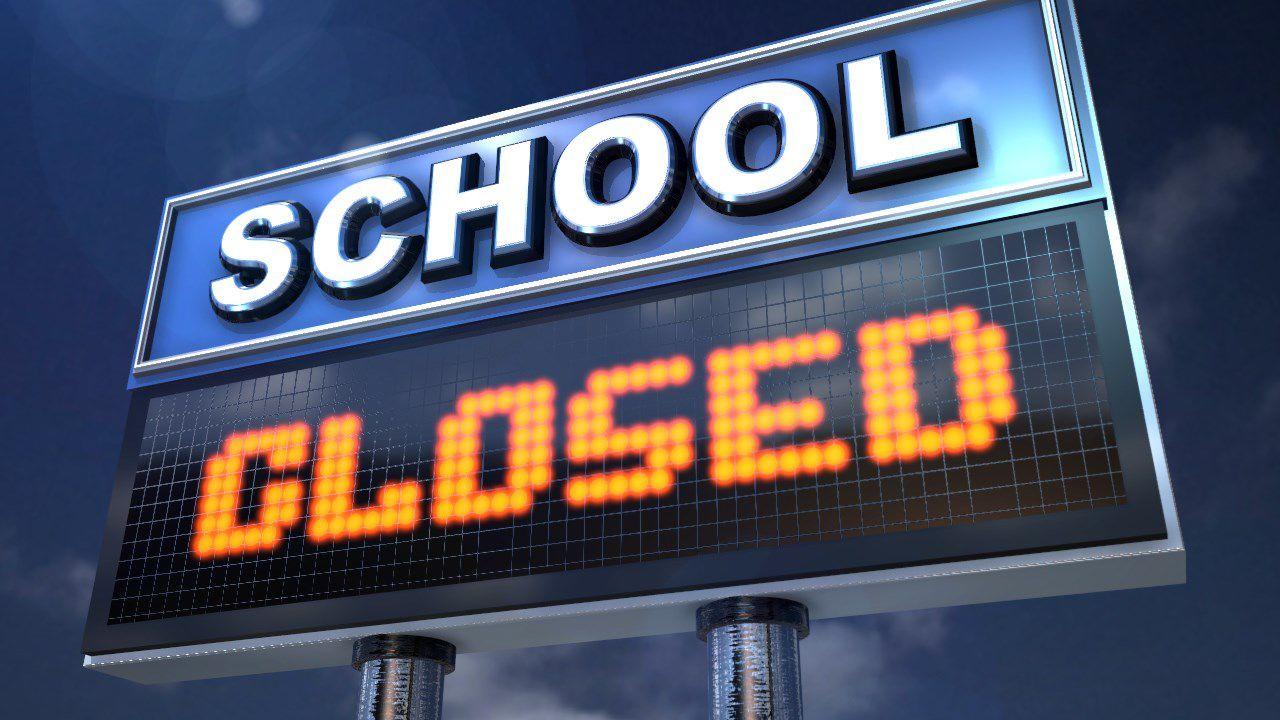 School Closures Due To Winter Weather School