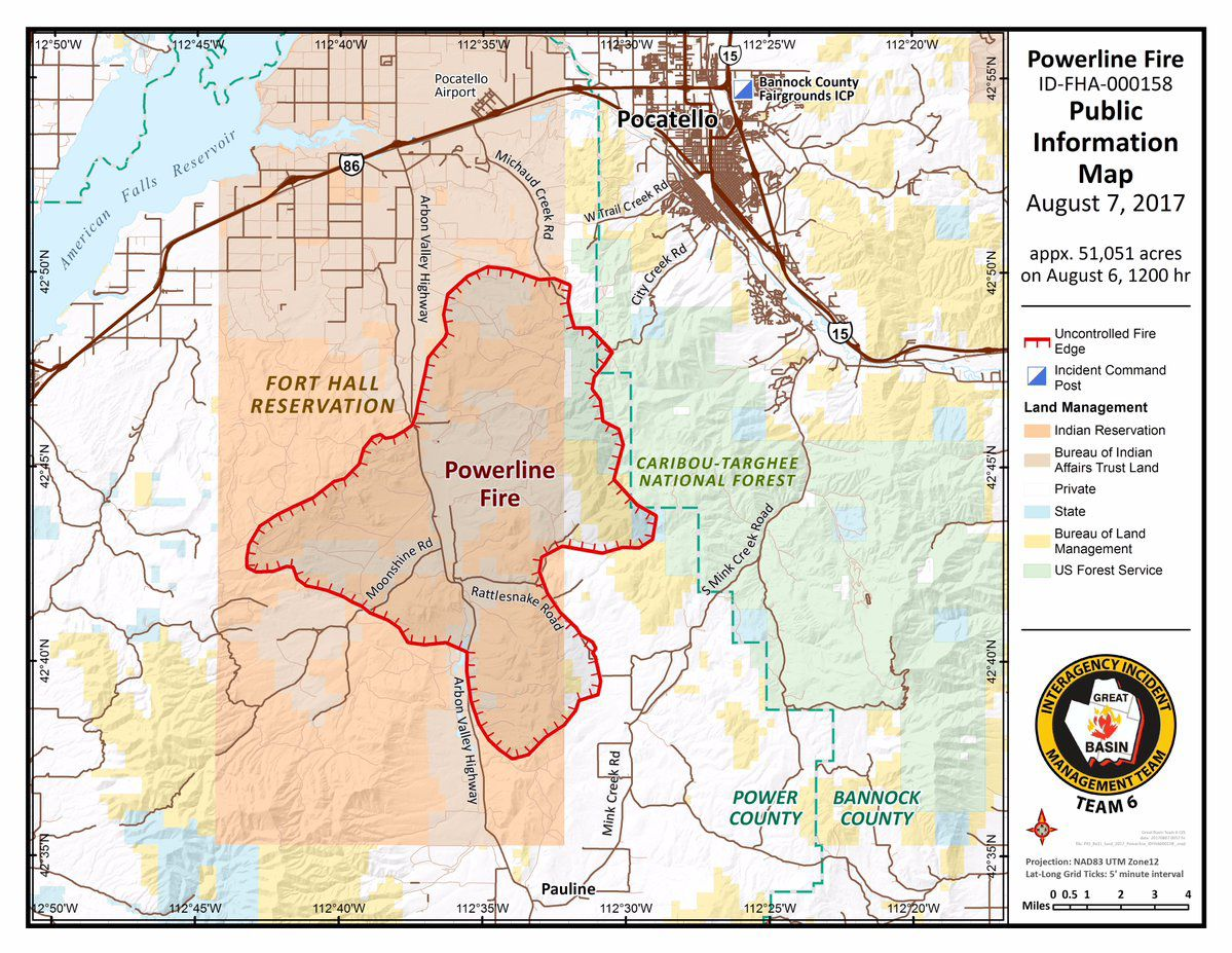 UPDATE: Powerline Fire at 51,000 Acres | Local News | kpvi.com on idaho wildfire report, idaho public health map, idaho fires burning, idaho fire updates, idaho wildfire updates, idaho fire map 2013, idaho volcanoes map, idaho flood map, alberta wildfire map, idaho map with cities, new mexico wildfire map, wa wildfire map, fires in idaho map, idaho snow map, idaho heat map, soda fire idaho map, idaho california map, 2013 sun valley idaho map, idaho soils map, united states wildfire map,