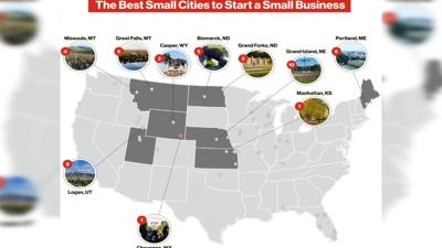 Best Small Cities to Start Small Businesses In