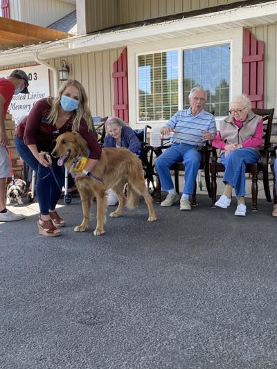 Local Assisted Living Residents Got Some Puppy Love