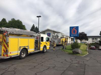 Motel 6 Fire Idaho Falls