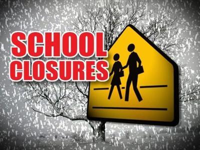 School Closures: Monday, December 14, 2015