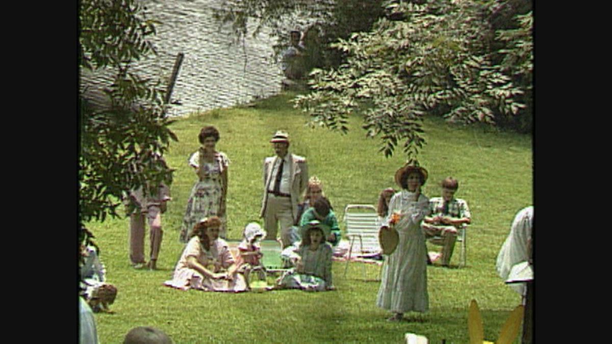 Easter egg hunt scene in 1989 film Steel Magnolias.jpg