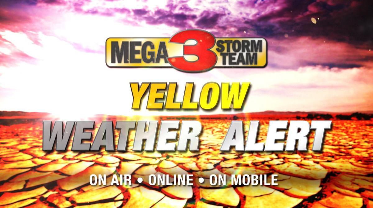 Yellow Weather Alert - Heat