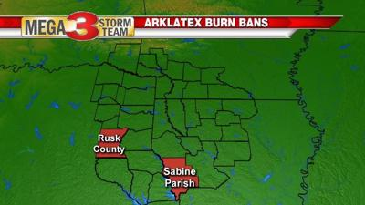Burn Bans as of Thursday August 22nd