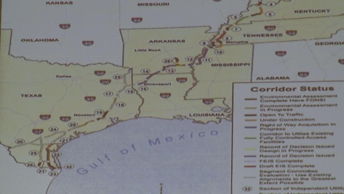 I69 Arkansas Map.Interstate 69 Go Or No Arklatex In Depth Ktbs Com