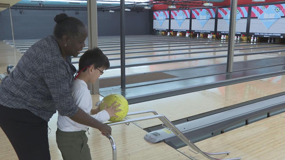 Joshua enjoying a game of bowling.jpg