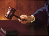 court image with gavel