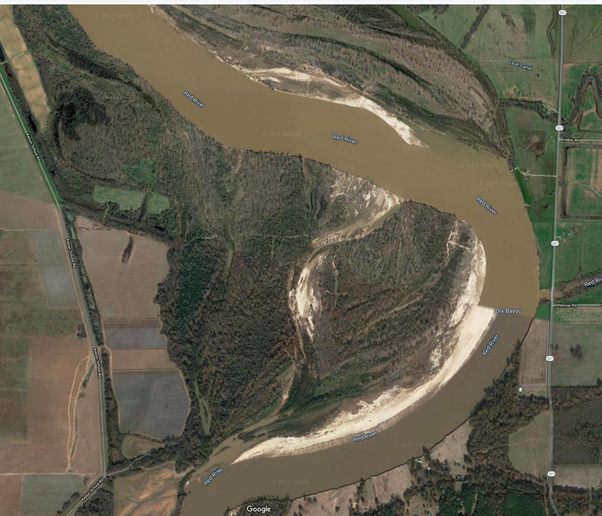 Highway 537 - Holly Ridge Ranch Google Earth view
