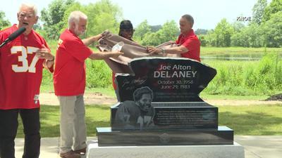 Joe Delaney monument