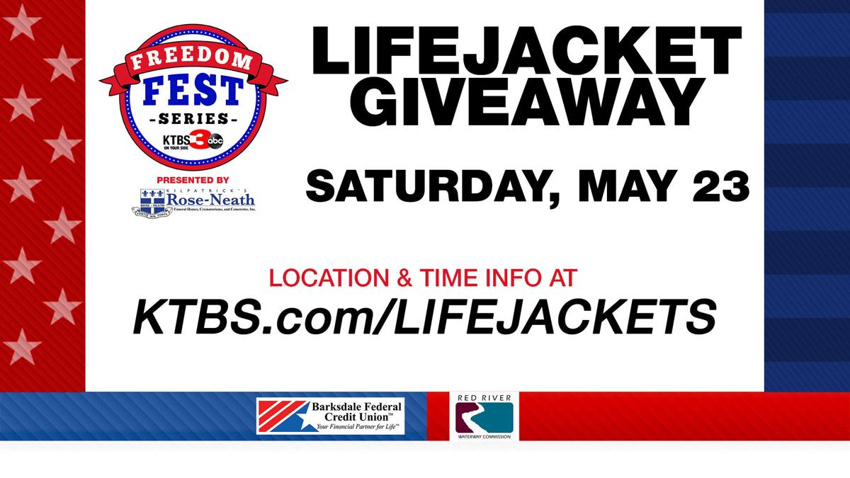 Freedom Fest Life Jacket Giveaway