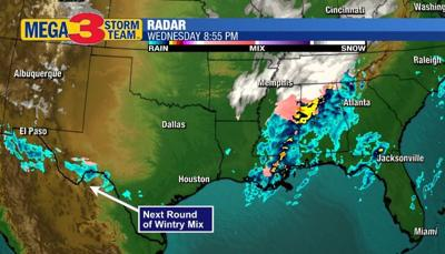 Regional Radar Image showing our possible Next Weather Maker