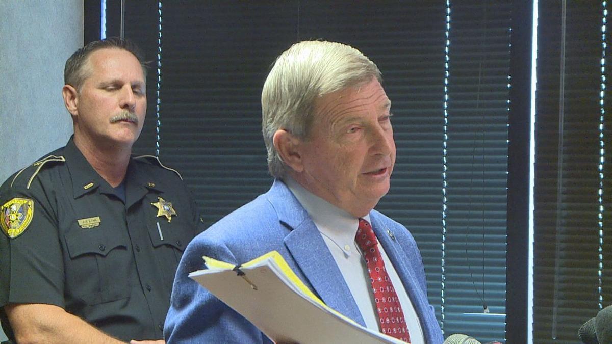 Caddo Parish Sheriff Steve Prator