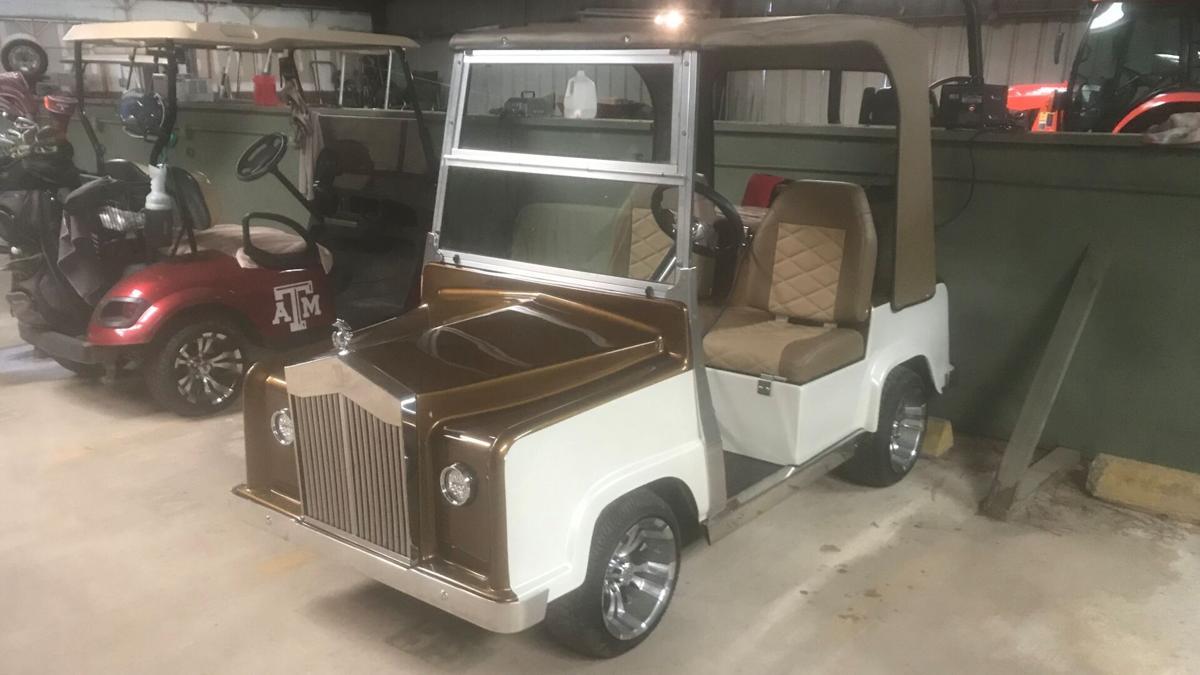 stolen golf cart