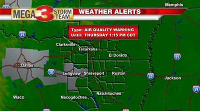 Ozone Action Day for parts of East Texas
