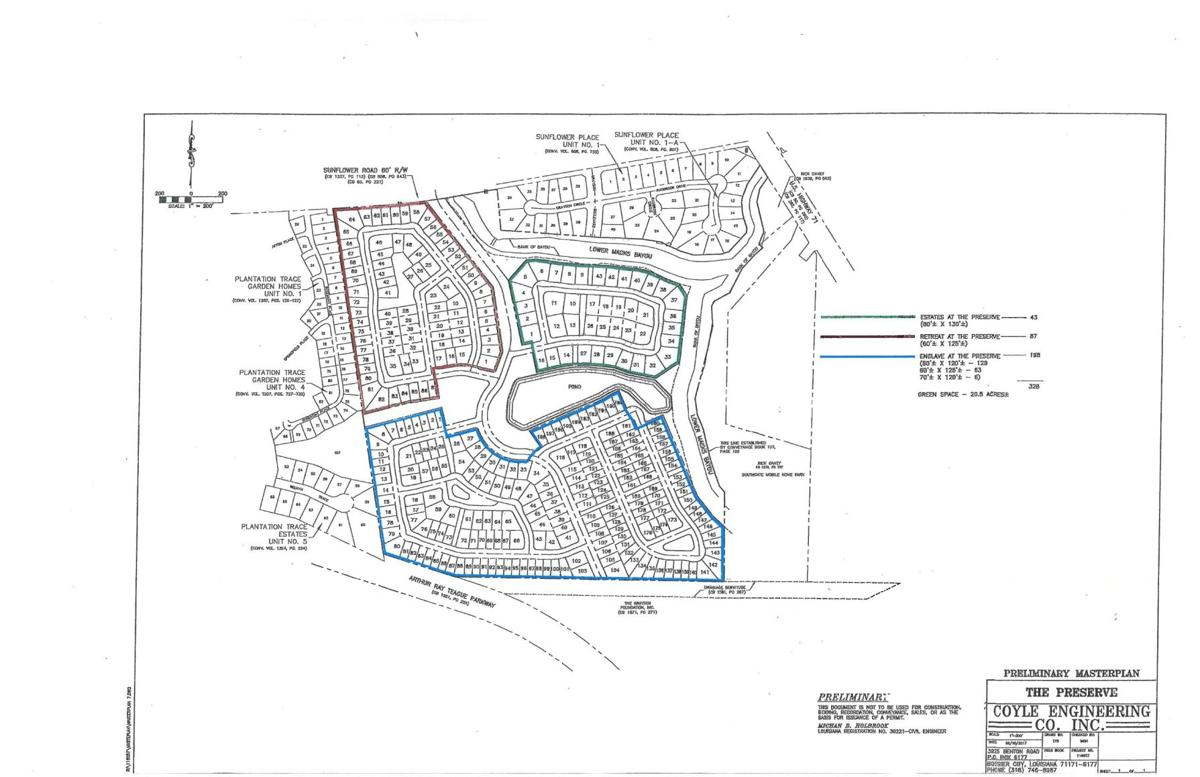Plans for The Preserve Subdivision in South Bossier | | ktbs.com