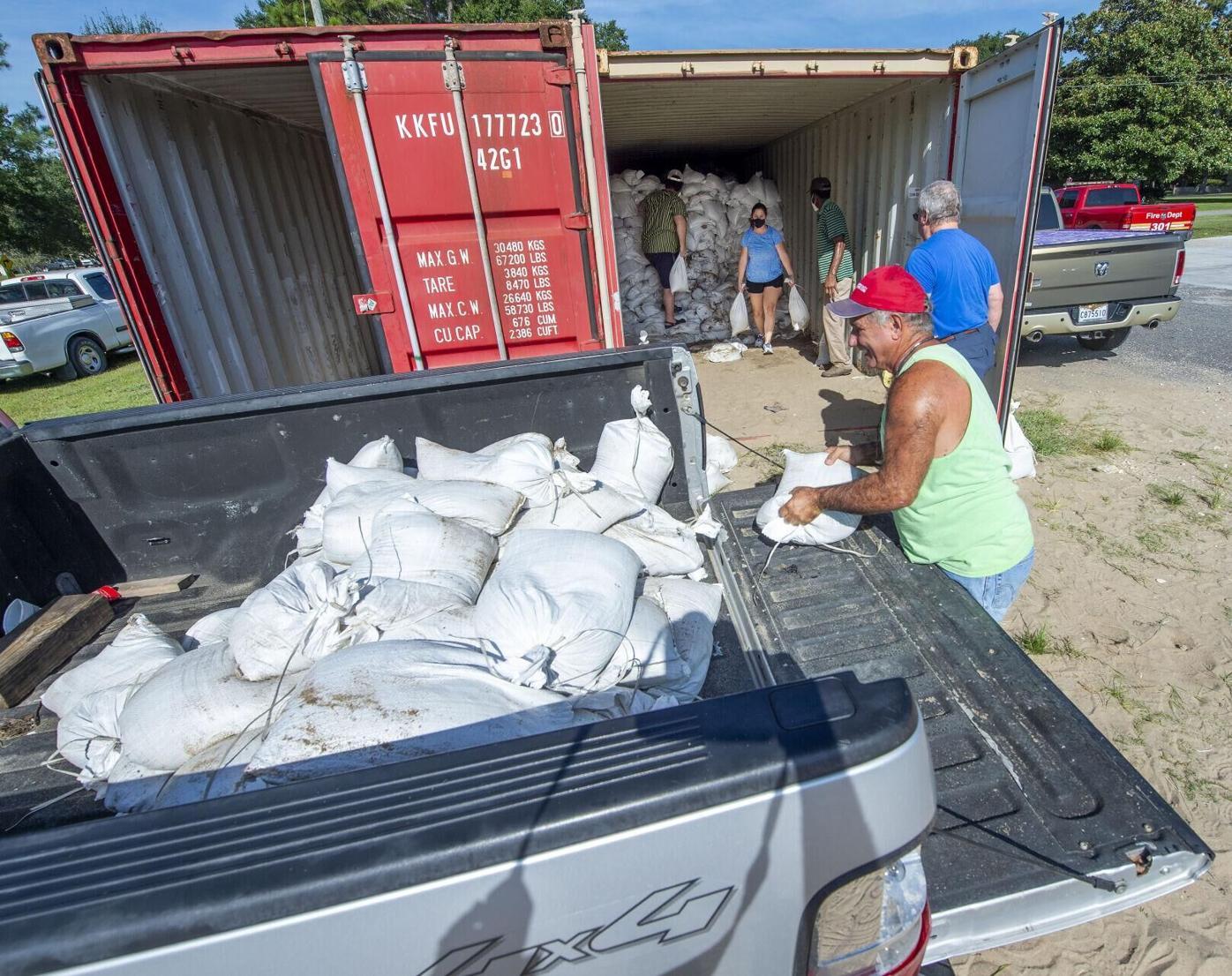 Baton Rouge sandbags