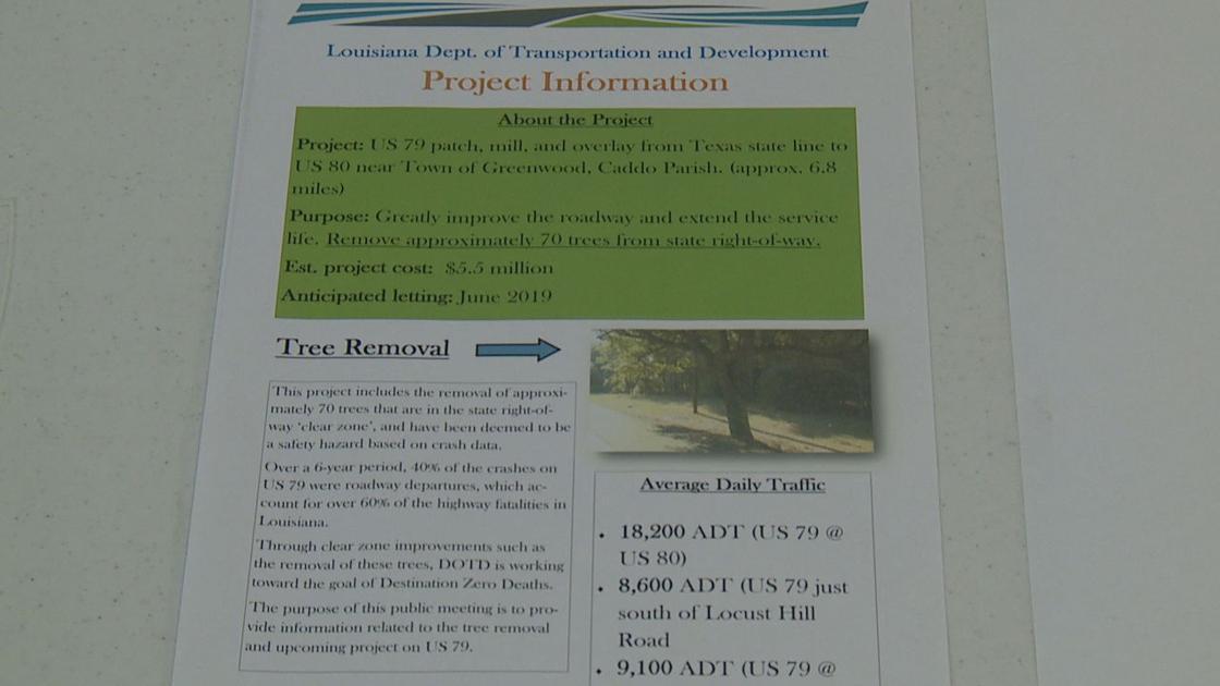 U S  Highway 79 tree removal brochure | | ktbs com