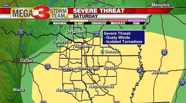 Severe Weather Threat for Saturday