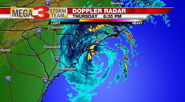 Radar Image of Hurricane Dorian