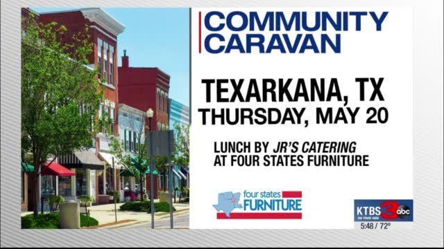 Rick Rowe Tours Texarkana Ahead Of The, Four States Furniture Texarkana