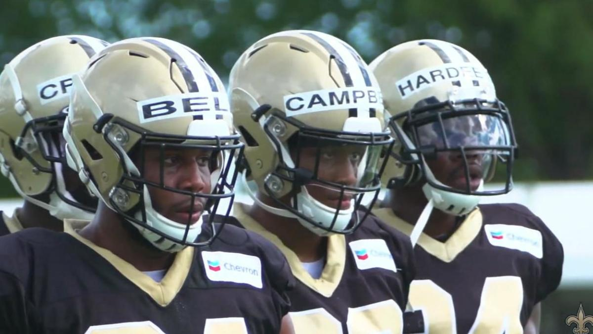 c5c8f2db Day three of Saints training camp sees first action in pads | Sports ...