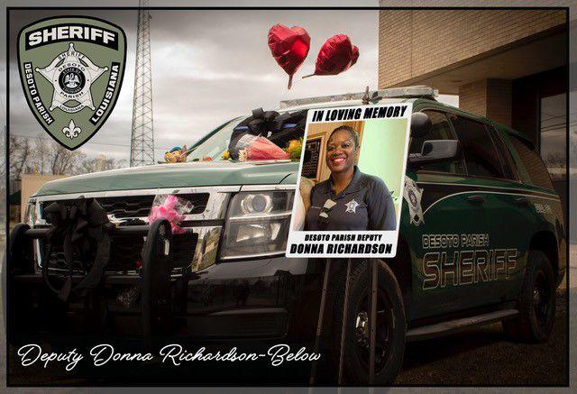 Deputy Donna Richardson-Below and patrol unit
