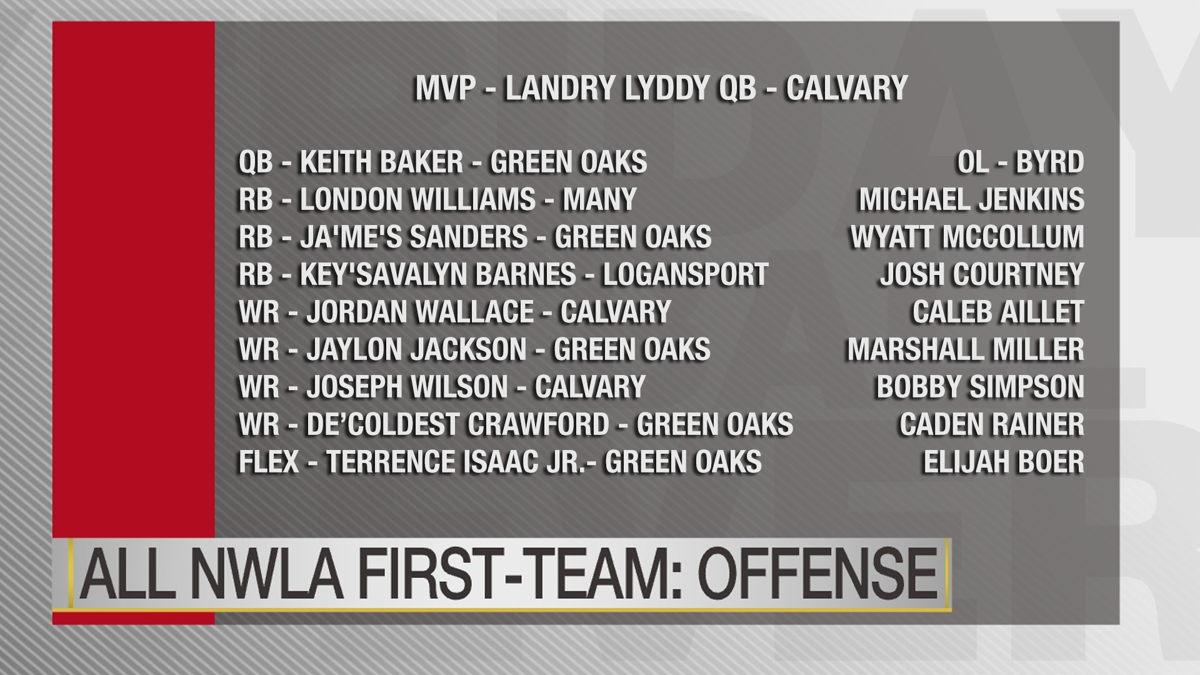 First team offense