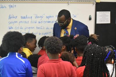 Caddo Parish Schools $10,000 Donation