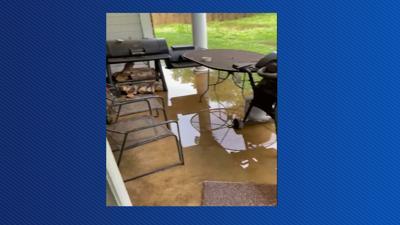 Griffin Estates - water at back door
