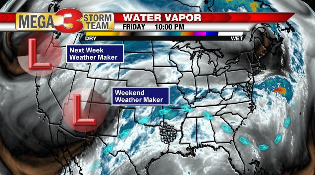 Weather Maker for this weekend