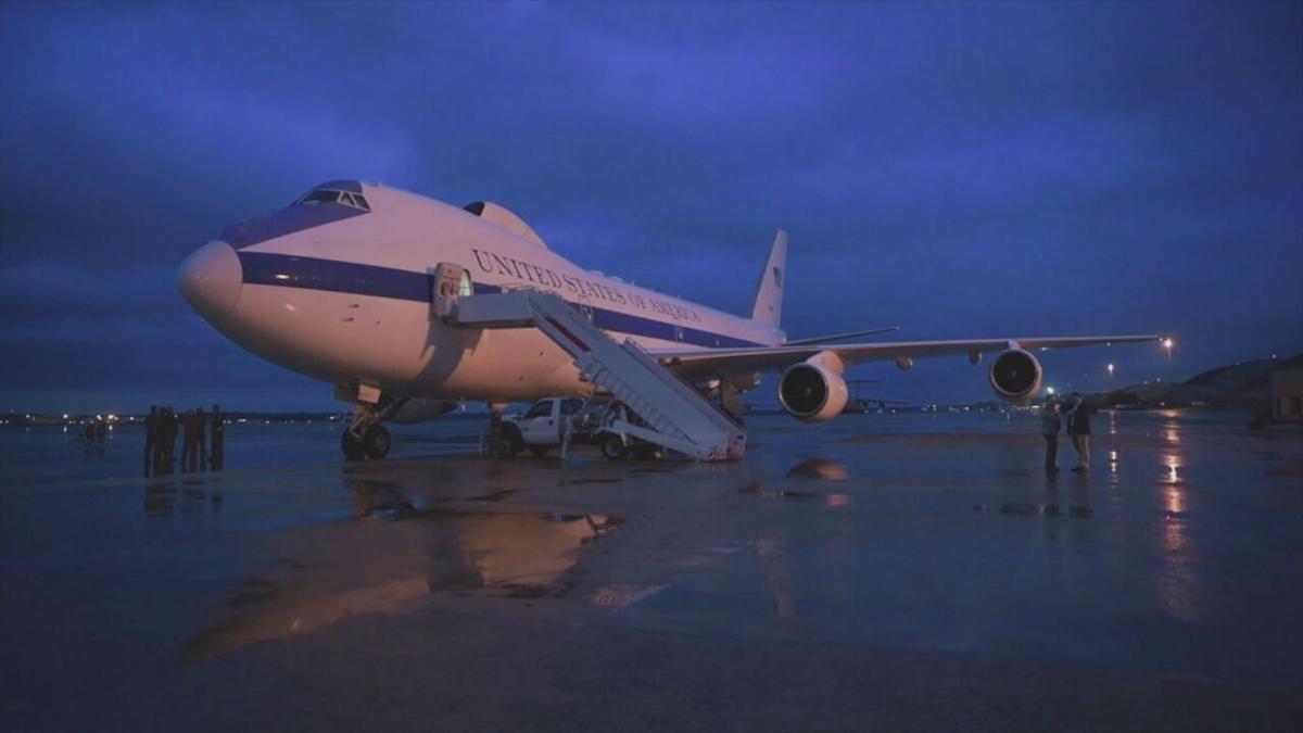 E-4B on tarmac