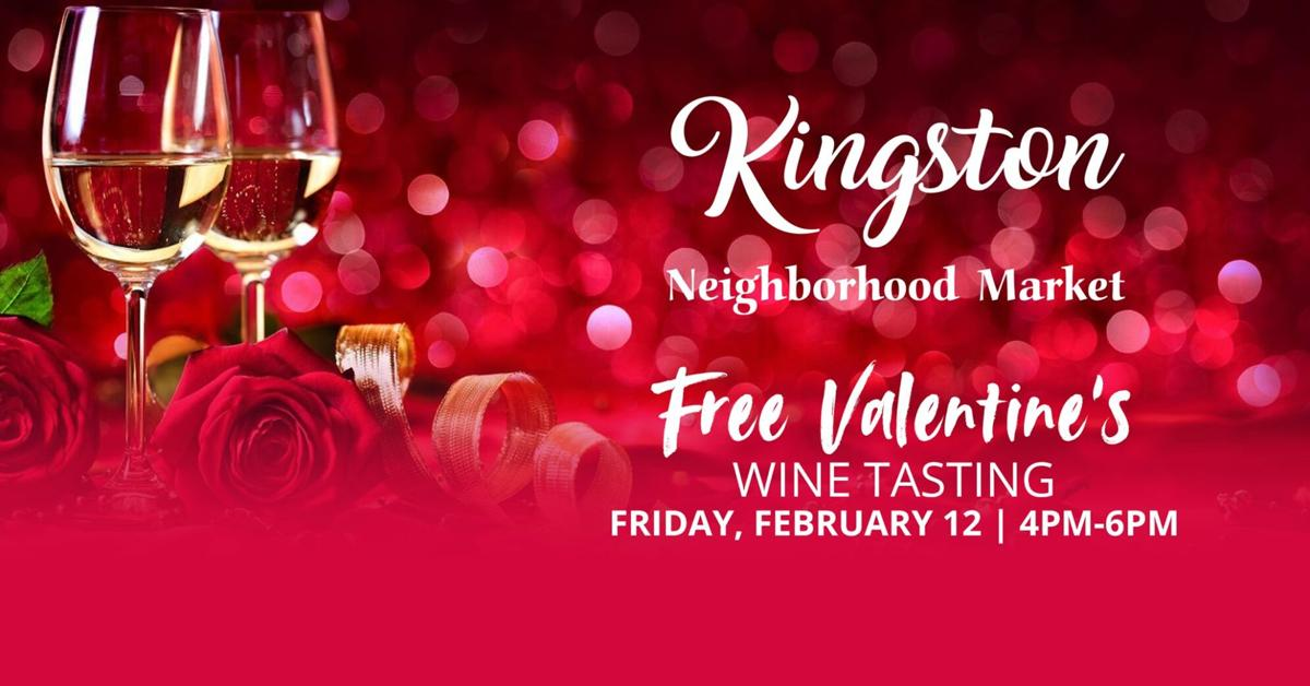 Kingston Valentine's Wine Tasting