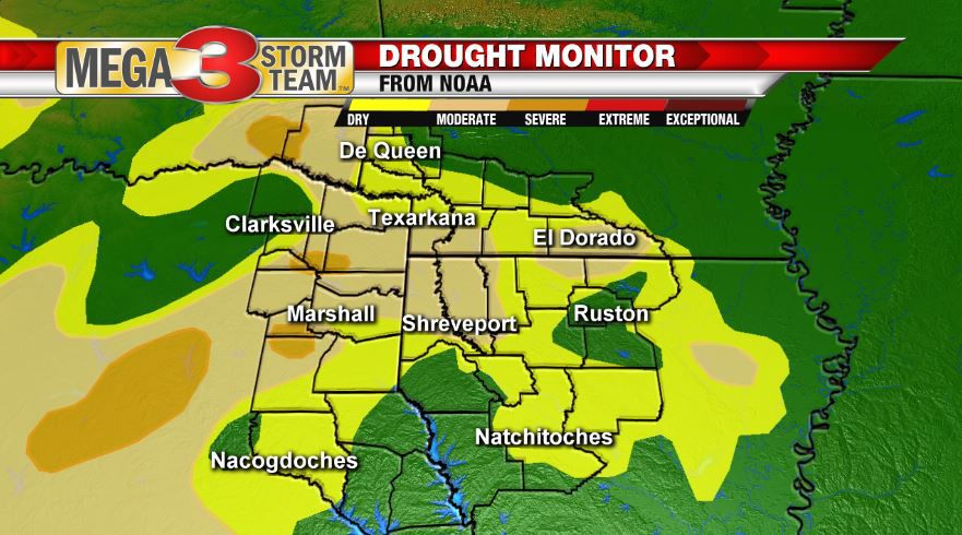 Drought Monitor from NOAA