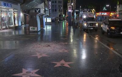 Trump star destroyed