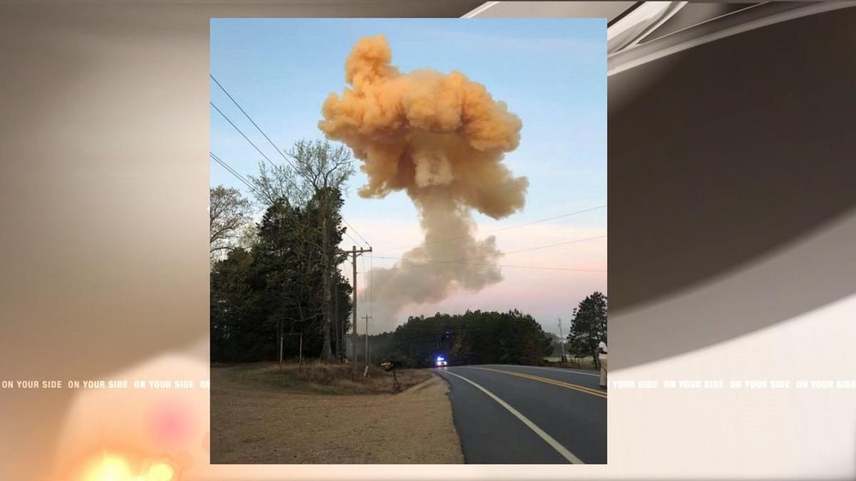 Fertilizer truck explodes, 1 dead, creates massive crater