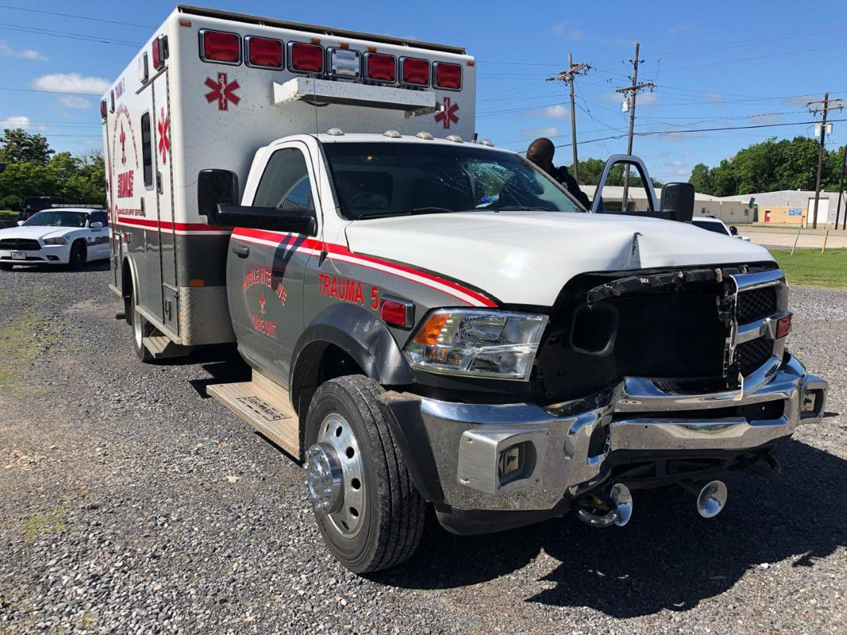 Ambulance damage