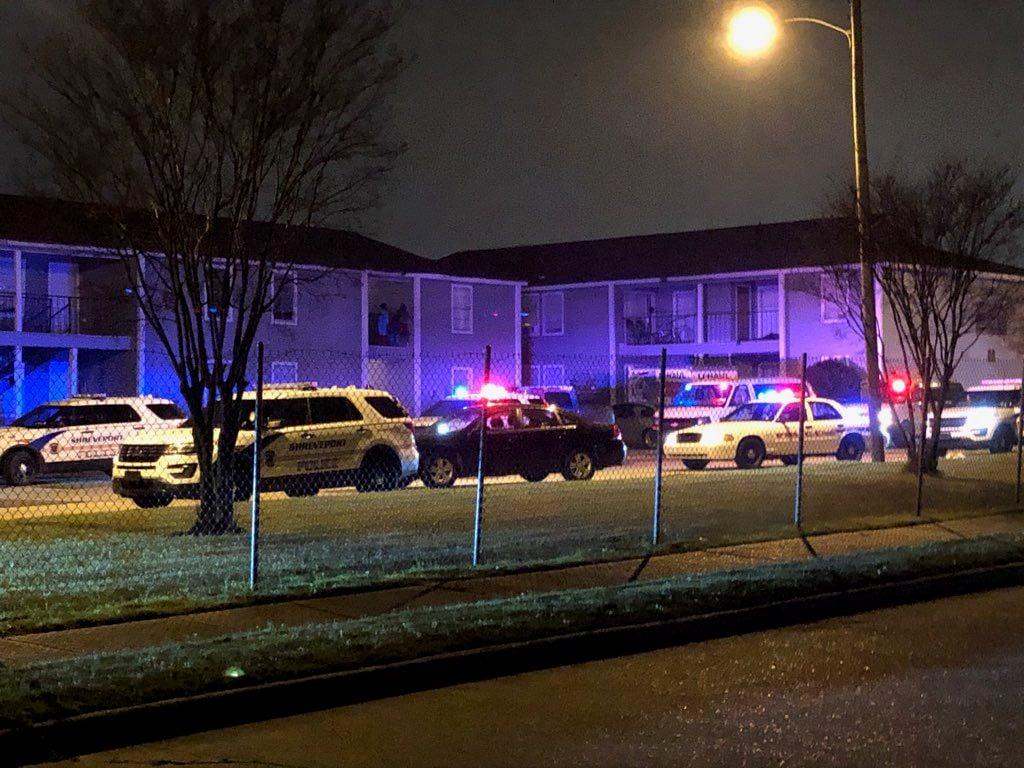 Linwood Homes Apt. Officer  involved shooting