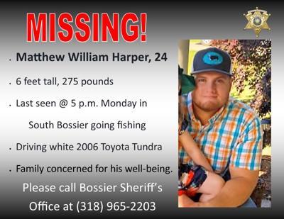 Missing - Matthew Harper