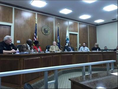 Minden City Council at work