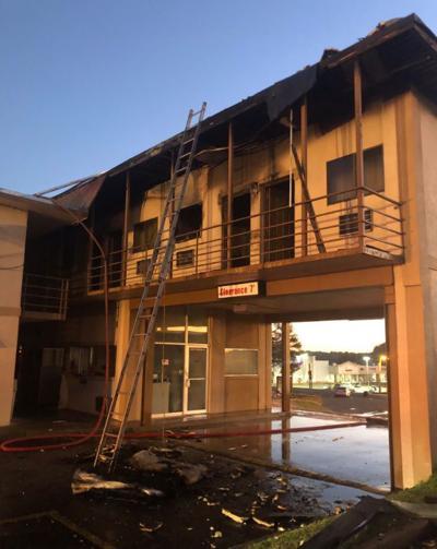 Ruston motel fire