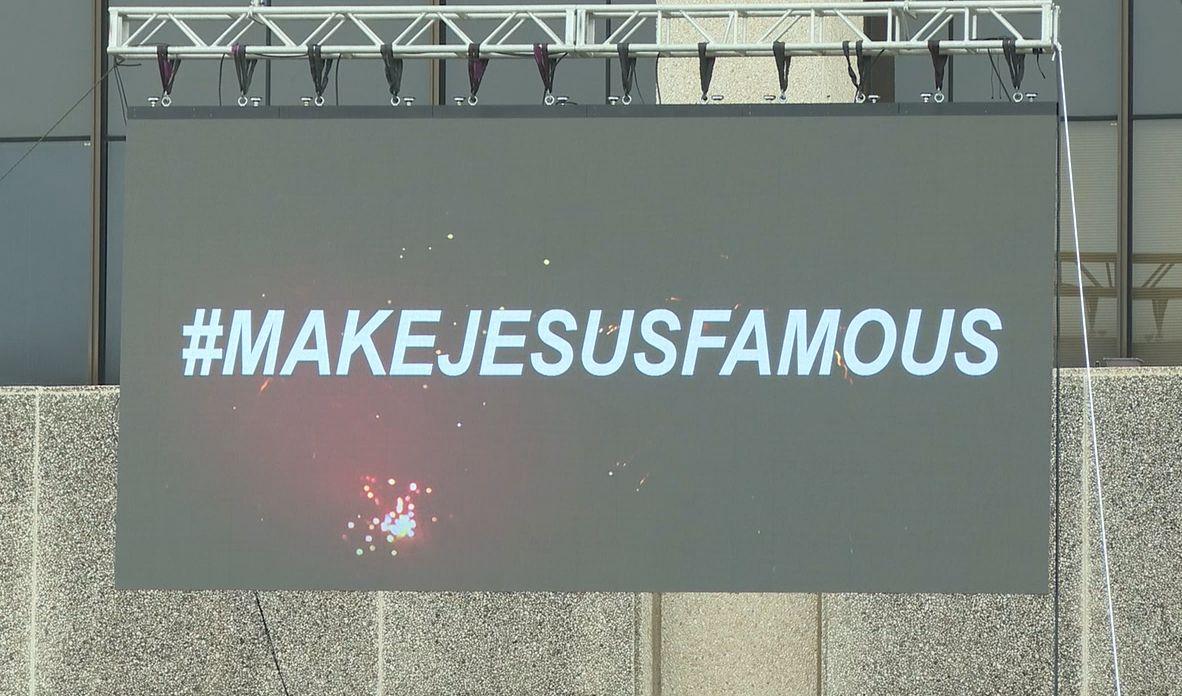 #MakeJesusFamous