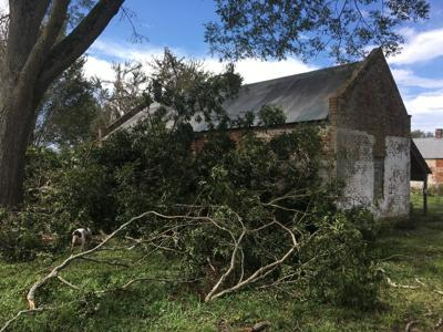 Cane River Creole National Historical Park Laura Damage