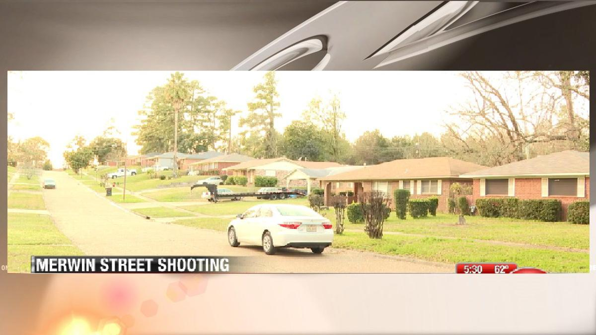 Merwin Street shooting scene