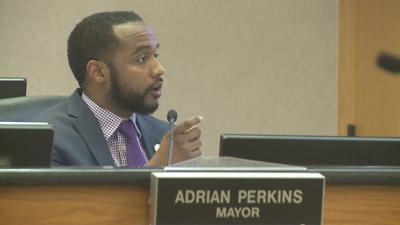Mayor Adrian Perkins